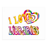 I Love Libraries Post Card