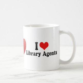I Love Library Agents Mugs