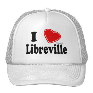 I Love Libreville Trucker Hats