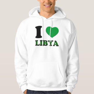 I LOVE LIBYA HOODIE