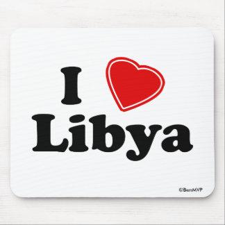 I Love Libya Mouse Pad