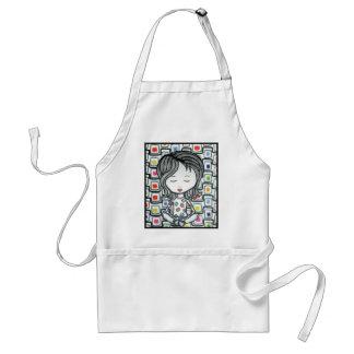 I love licorice too adult apron