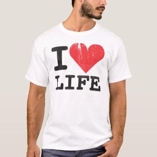 I Love Life Basic T-Shirt