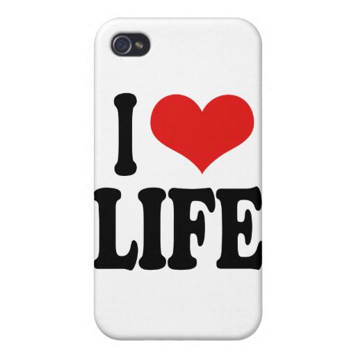 I Love Life Case For iPhone 4