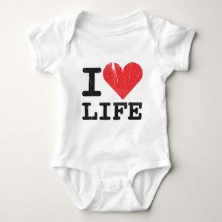 I Love Life Infant Baby Bodysuit