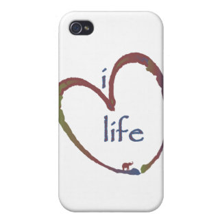 I love life iPhone 4 cover
