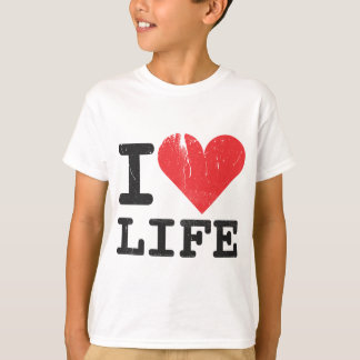 I Love Life Kids T-Shirt