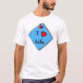 I LOVE LIFE: MEMO ON SHIRT