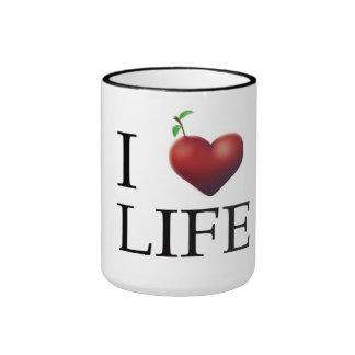 I Love Life Mug
