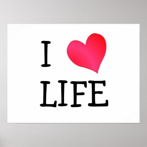 I Love Life Poster