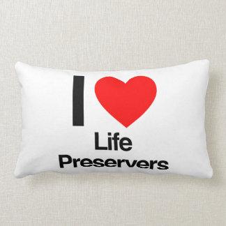 i love life preservers pillows