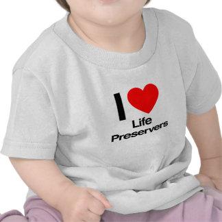 i love life preservers tshirts