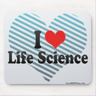 I Love Life Science Mouse Pad