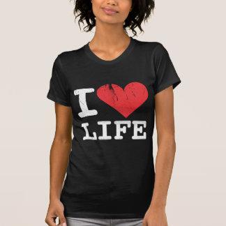 I Love Life Women's Dark T-Shirt