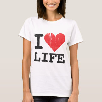 I Love Life Women's Fitted T-shirt