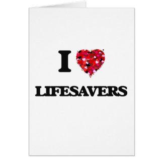 I Love Lifesavers Card