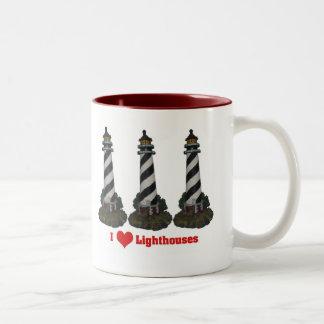 I Love Lighthouses Mug