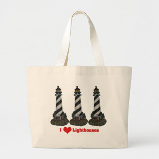 I Love Lighthouses Tote