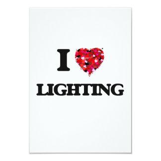 I Love Lighting 3.5x5 Paper Invitation Card
