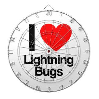 i love lightning bugs dart board