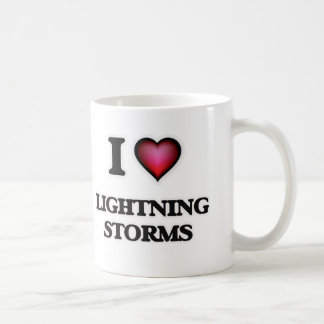 I Love Lightning Storms Coffee Mug