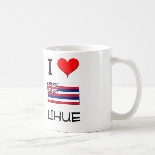 I Love LIHUE Hawaii Coffee Mug