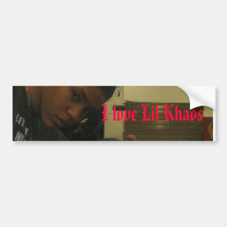 I love Lil Khaos Bumper Sticker
