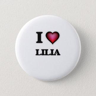 I Love Lilia Pinback Button