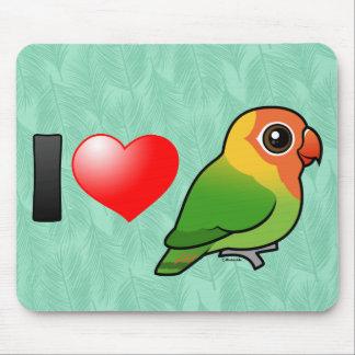 I Love Lilian's Lovebirds Mousepads