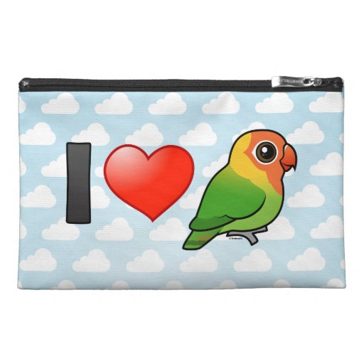 I Love Lilian's Lovebirds Travel Accessories Bags