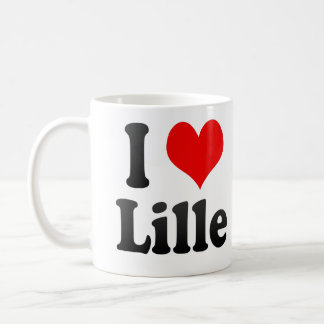 I Love Lille, France. J'Ai L'Amour Lille, France Classic White Coffee Mug
