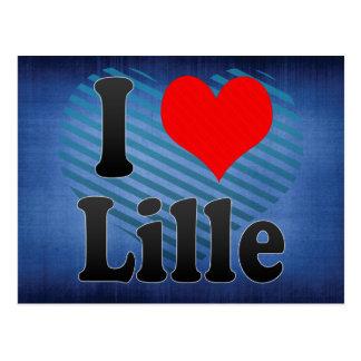 I Love Lille, France. J'Ai L'Amour Lille, France Postcard