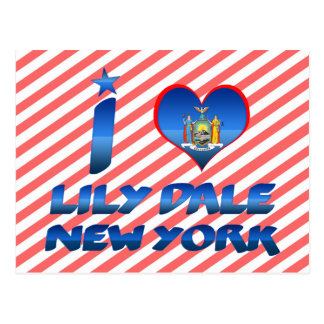 I love Lily Dale, New York Post Card