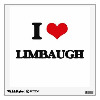 I Love Limbaugh Wall Skins