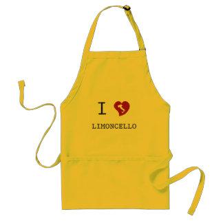 I Love Limoncello Apron