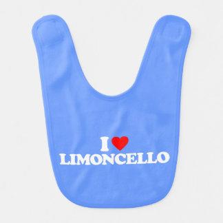 I LOVE LIMONCELLO BABY BIB