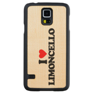 I LOVE LIMONCELLO CARVED® MAPLE GALAXY S5 CASE