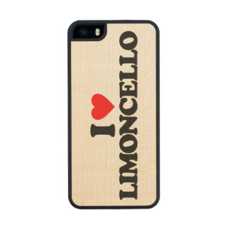 I LOVE LIMONCELLO CARVED® MAPLE iPhone 5 SLIM CASE