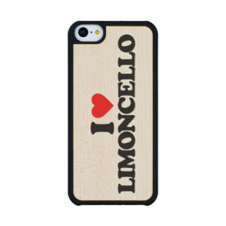 I LOVE LIMONCELLO CARVED® MAPLE iPhone 5C SLIM CASE