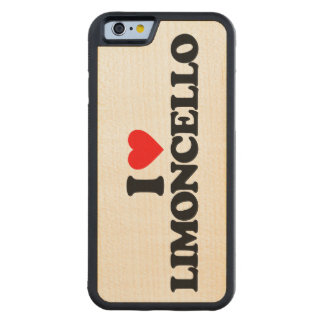 I LOVE LIMONCELLO CARVED® MAPLE iPhone 6 BUMPER