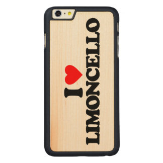 I LOVE LIMONCELLO CARVED® MAPLE iPhone 6 PLUS SLIM CASE