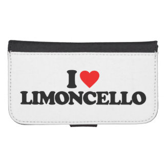 I LOVE LIMONCELLO GALAXY S4 WALLETS