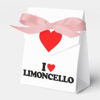 I LOVE LIMONCELLO PARTY FAVOR BOXES