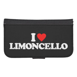 I LOVE LIMONCELLO PHONE WALLETS