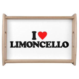 I LOVE LIMONCELLO SERVING PLATTER