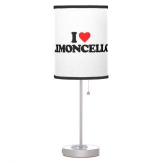 I LOVE LIMONCELLO TABLE LAMP