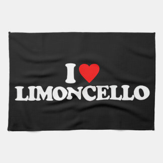 I LOVE LIMONCELLO TOWEL