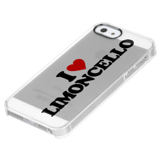 I LOVE LIMONCELLO UNCOMMON CLEARLY™ DEFLECTOR iPhone 5 CASE