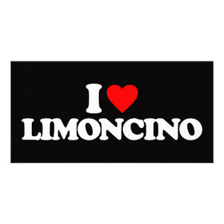 I LOVE LIMONCINO PICTURE CARD