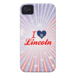 I Love Lincoln, Maine Case-Mate iPhone 4 Cases
